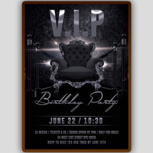 VIP Lounge Flyer Template