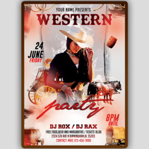 Farwest Flyer Template