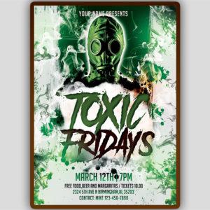 Toxic Fridays Flyer Template