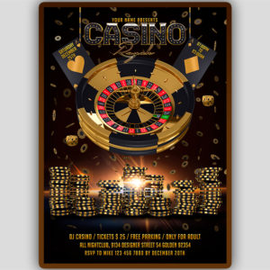 Casino Royale Flyer Template