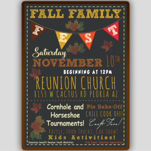 Fall Invitation Template
