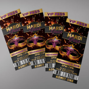 Masquerade Ball Ticket Template