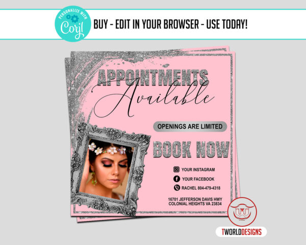 Appointment Available Flyer